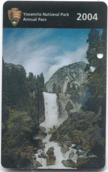 Pass du park Yosemite