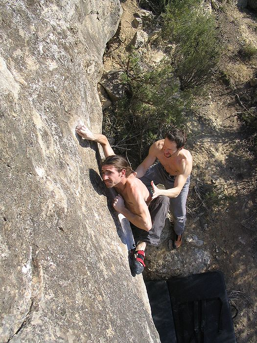 Jérôme Sadler, Sector Universitad (7a ou 7b+)