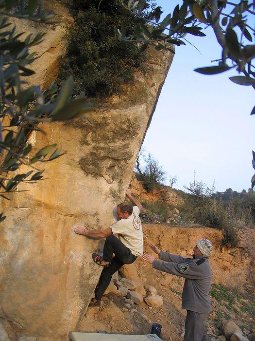 Pixta, La Pedra Magica, Sector Pallars (6b+)