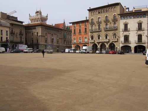 La Plaza Major de Vic