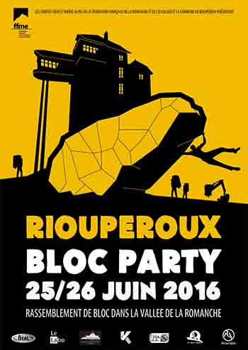 Affiche Bloc Party Rioup Orange copie